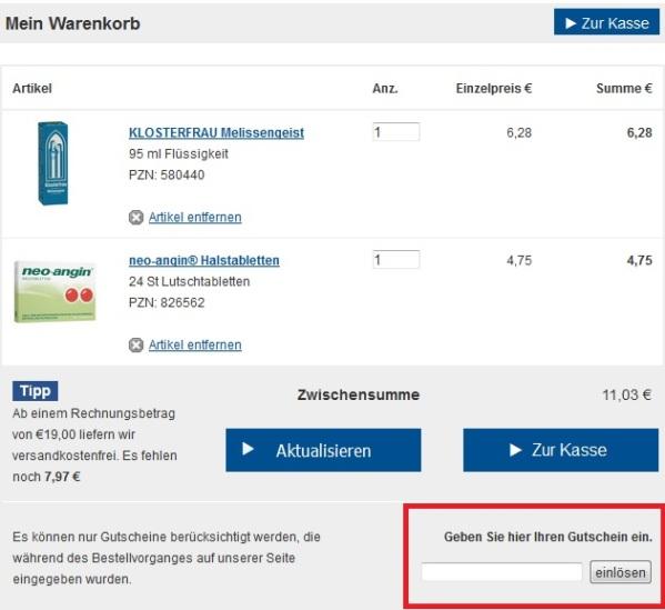 Shop Apotheke Gutschein, Test & Erfahrungen mit der Online ...