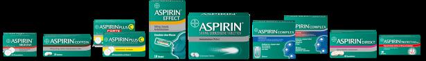 Aspirin Produkte