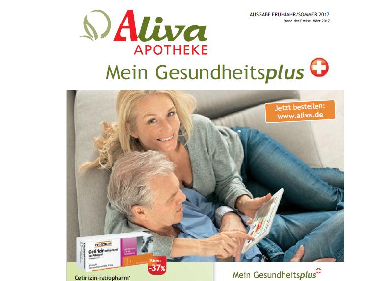Aliva Apotheke Katalog