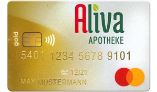 Aliva MasterCard Gold Vorteilskart