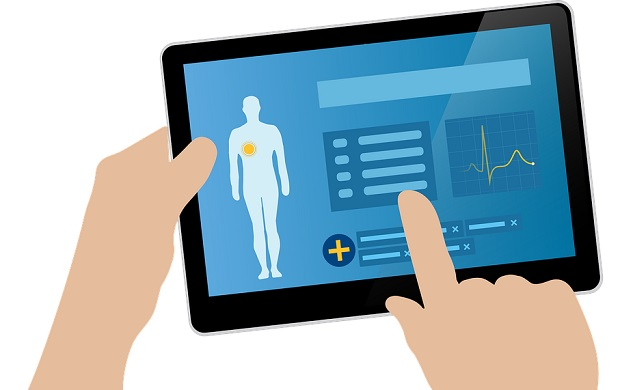 medizinische apps auf rezept tablet handy