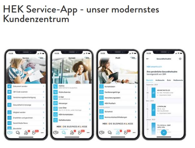online services der krankenkassen