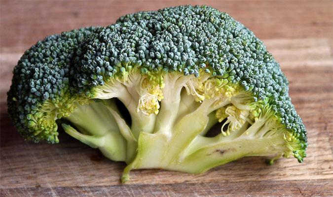 Brokkoli Lebensmittel mit vielen Vitaminen
