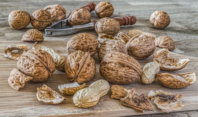 Erdnüsse Lebensmittel mit vielen Vitaminen