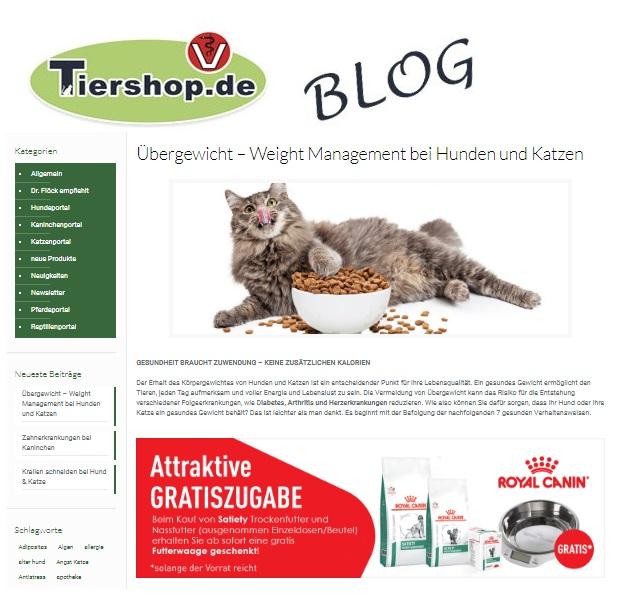 Tier Online Apotheke
